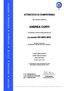 19-011 AttestatoAndreaCortiISO9001