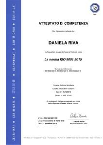 19-011 AttestatoRivaDanielaISO9001